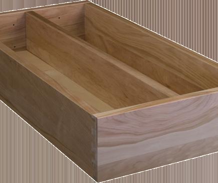 wood box-divider