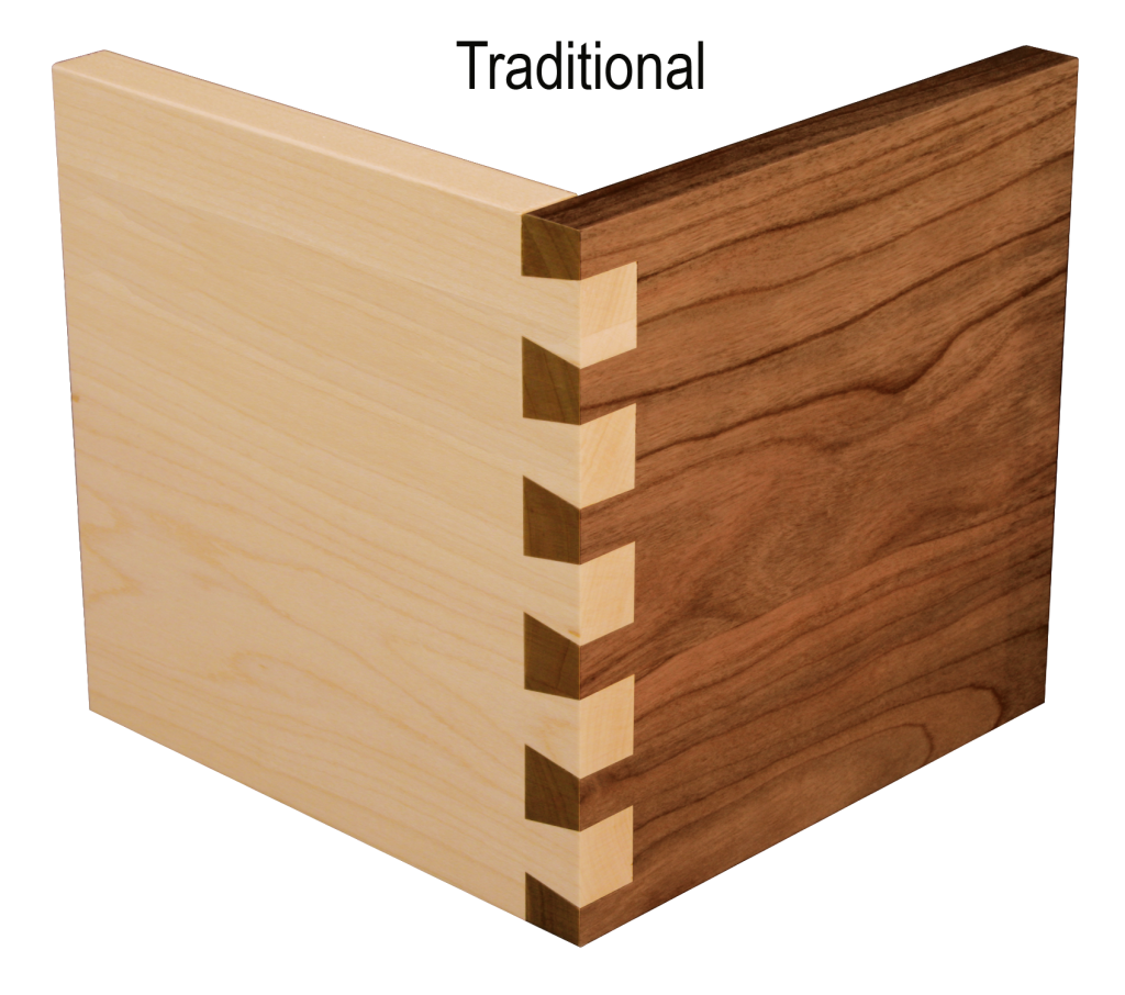 custom drawer box construction