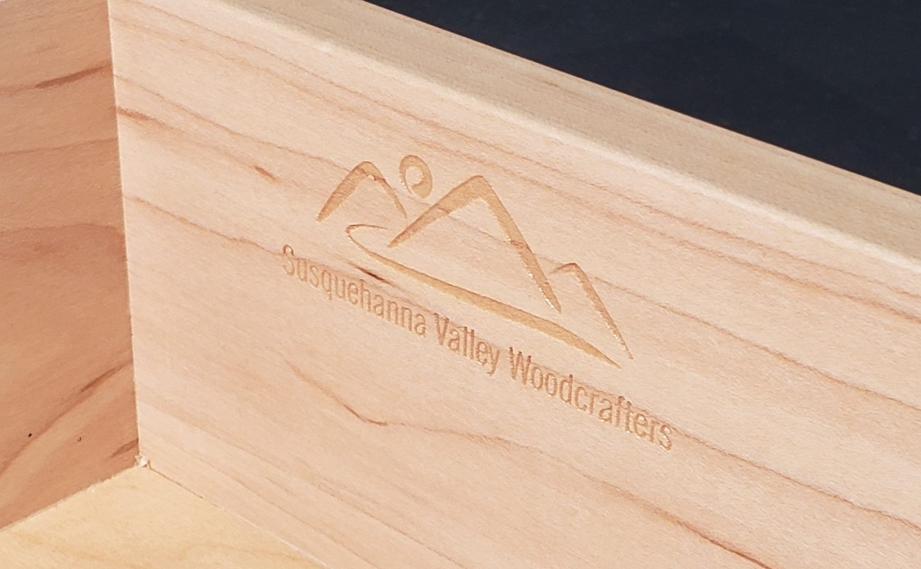 laser logo custom dovetail drawer boxes